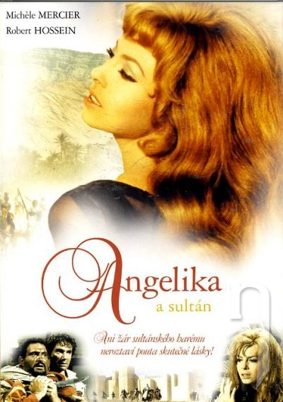 DVD Film - Angelika a sultán
