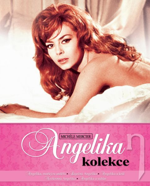 BLU-RAY Film - Angelika kolekcia (5 Bluray)