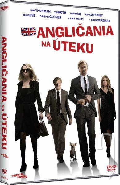 DVD Film - Angláni na útěku