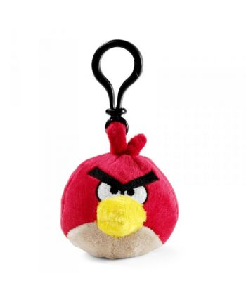 Plyšový Angry Birds červený - prívesok
