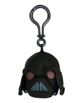 Plyšový Angry Birds - Star Wars Darth Vader čierny - prívesok