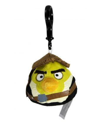 Plyšový Angry Birds - Star Wars Solo žltý - prívesok