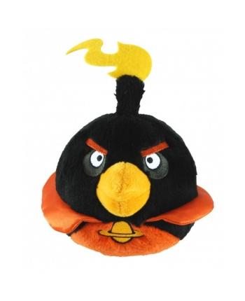 Plyšový Angry Birds - Space čierny so zvukom (20 cm)
