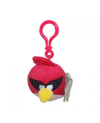 Plyšový Angry Birds - Space červený - prívesok
