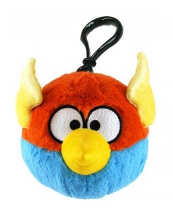 Plyšový Angry Birds - Space modrý - prívesok