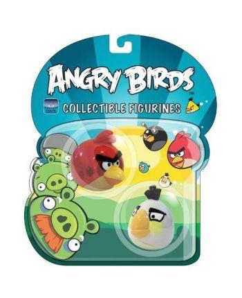 Angry Birds - zberateľská edícia (červený + biely)