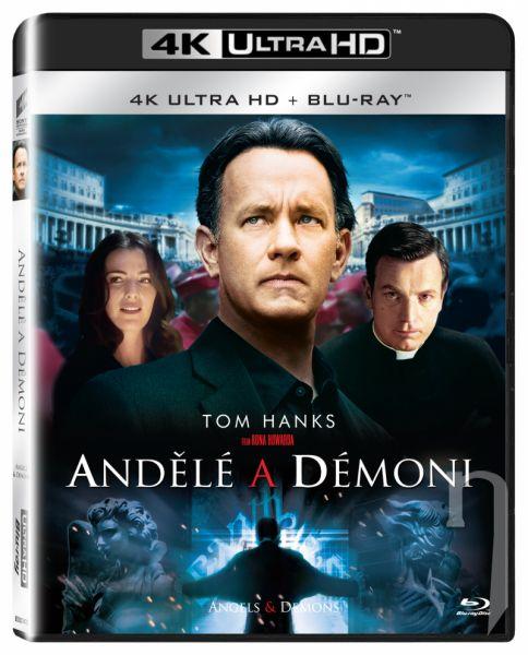 BLU-RAY Film - Andělé a démoni UHD + BD
