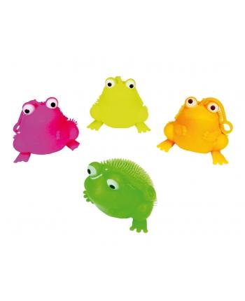 Antistresová žaba so svetlom - displej 12 ks (8 cm)