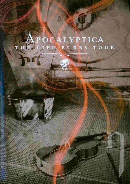 DVD Film - Apocalyptica - The Life Burns Tour