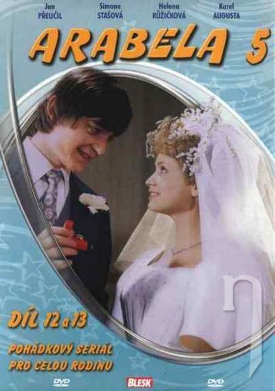 DVD Film - Arabela 5: díl 12-13 (papierový obal)