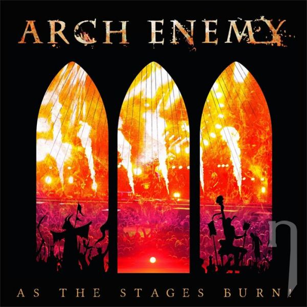 CD - Arch Enemy: As The Stages Burn (CD + DVD)