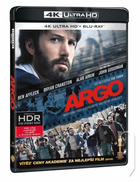 BLU-RAY Film - Argo 2BD (UHD+BD)