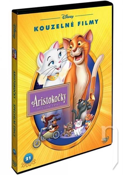 Aristokočky S.E. - Disney Kouzelné filmy č.21 (DVD)
