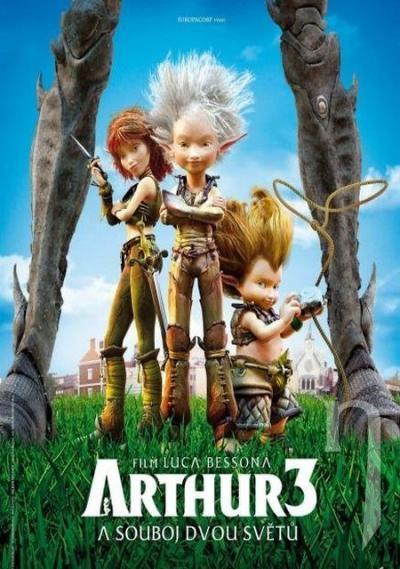 DVD Film - Arthur a souboj dvou světů SK/CZ dabing