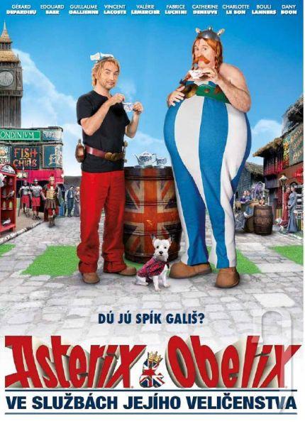 DVD Film - Asterix a Obelix ve službách jejího veličenstva