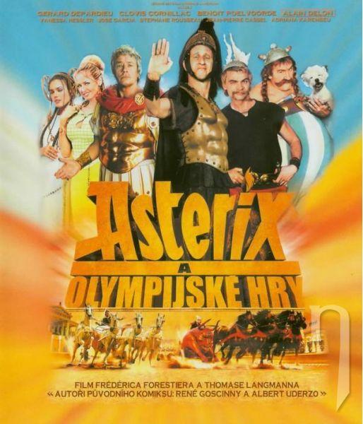 BLU-RAY Film - Asterix a olympijské hry