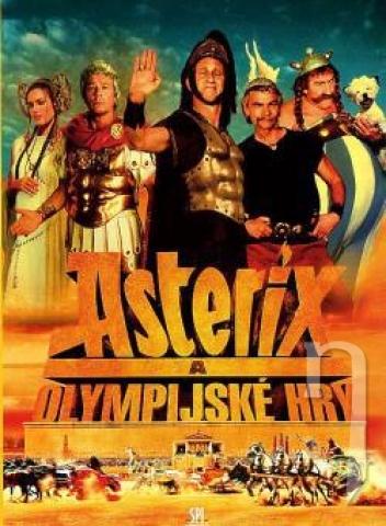 DVD Film - Asterix a Olympíjske hry (papierový obal)