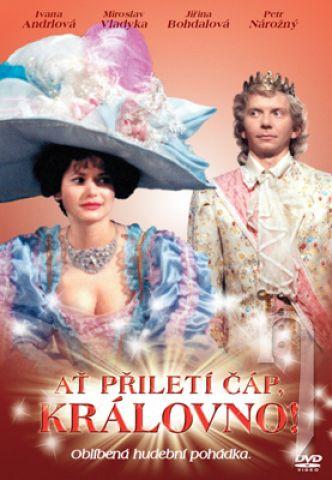 DVD Film - Ať přiletí čáp, královno