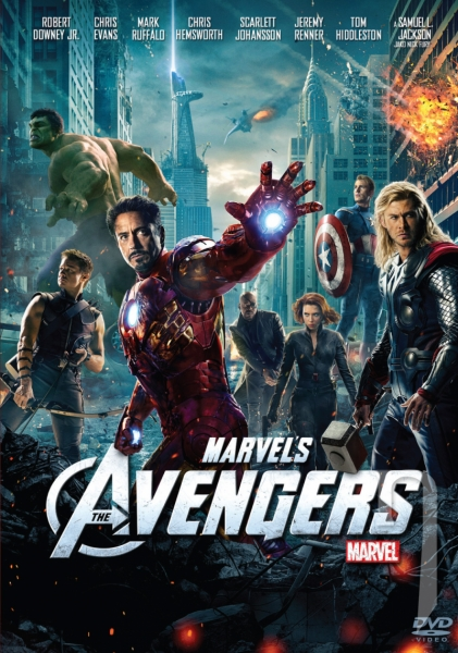 DVD Film - Avengers: Pomstitelia