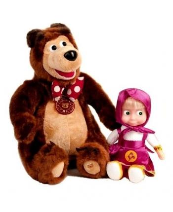 Bábika Máša a Medveď Miško - Máša a Medveď (22 cm a 33 cm)