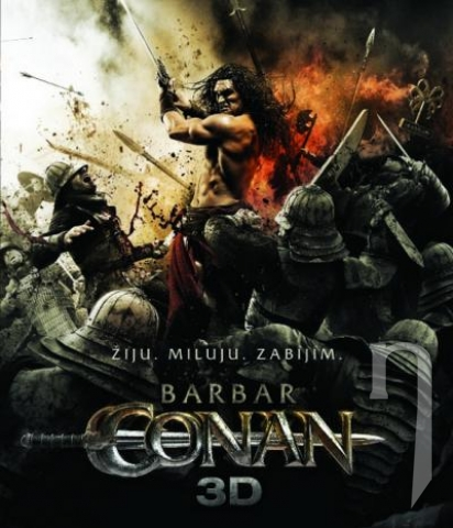 BLU-RAY Film - Barbar Conan (3D + 2D Bluray)
