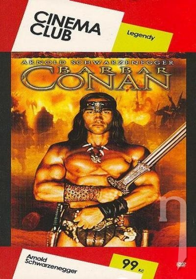 DVD Film - Barbar Conan (pap. box)