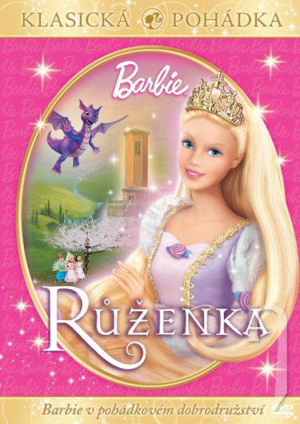 DVD Film - Barbie Ruženka