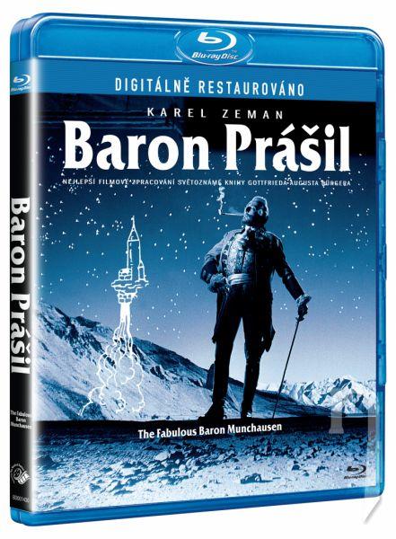 BLU-RAY Film - Baron Prášil
