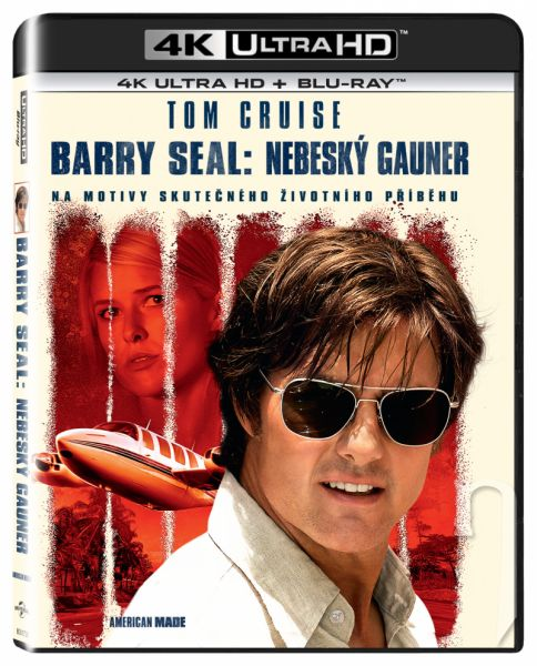 BLU-RAY Film - Barry Seal: Nebeský gauner
