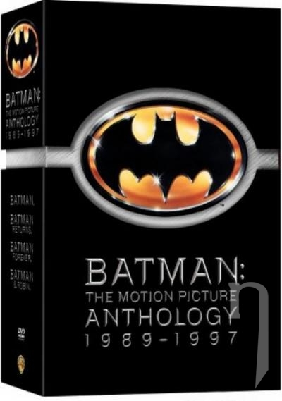 DVD Film - Batman Antológia (8 DVD)