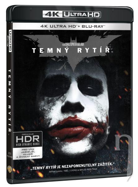 BLU-RAY Film - Temný rytíř 3BD (UHD+BD+bonus disk)
