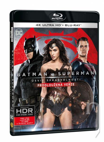 BLU-RAY Film - Batman vs. Superman: Úsvit spravedlnosti 2BD (UHD+BD)
