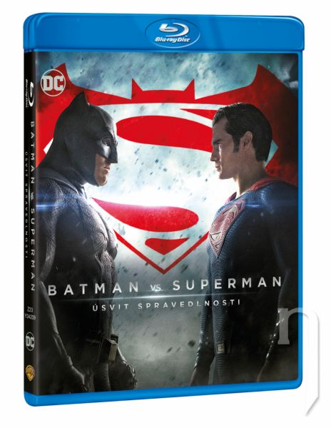 BLU-RAY Film - Batman vs. Superman: Úsvit spravedlnosti