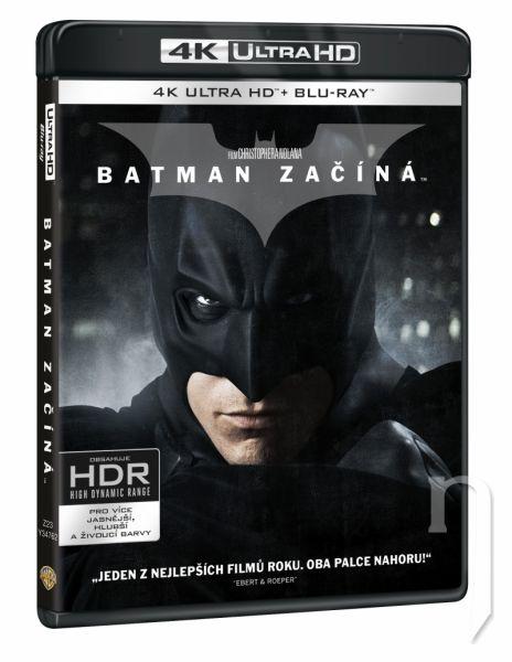 BLU-RAY Film - Batman začíná 3BD (UHD+BD+bonus disk)