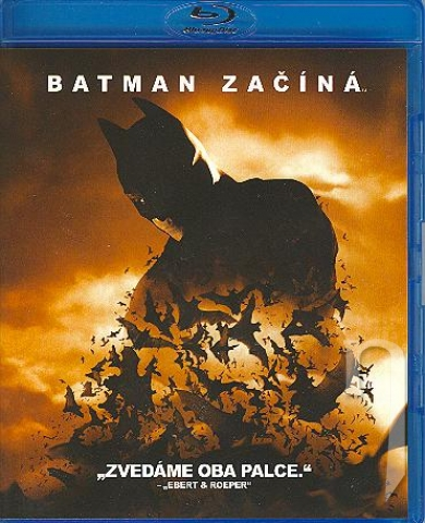 BLU-RAY Film - Batman začína (Blu-ray)