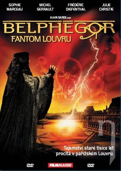95b264754 DVD Film - Belphégor - Fantóm z Louvru (papierový obal)