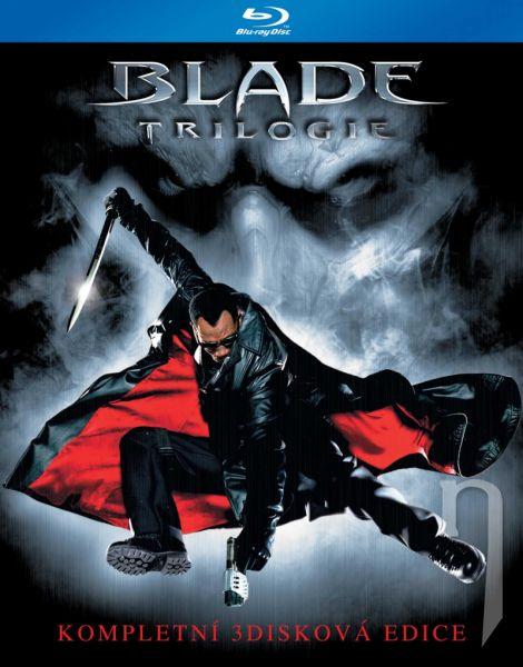 BLU-RAY Film - Blade kolekce (3 Bluray)