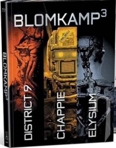 BLU-RAY Film - Blomkamp: Limited Edition Collection