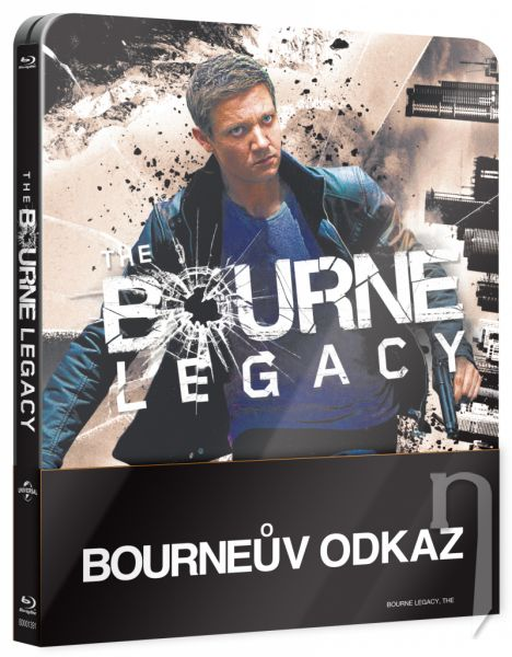 BLU-RAY Film - Bourneov odkaz - steelbook