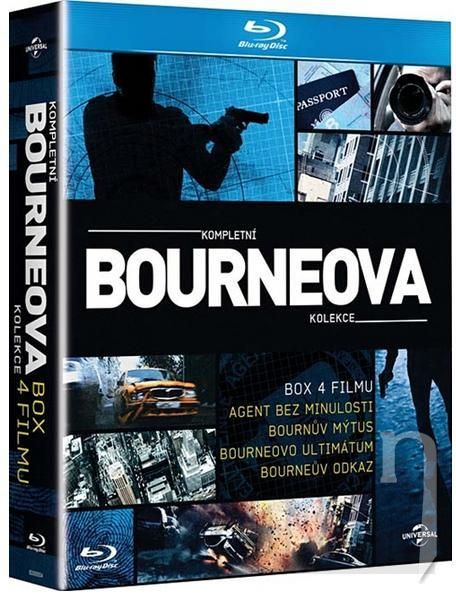 BLU-RAY Film - Bourneova kolekce (4 Bluray)