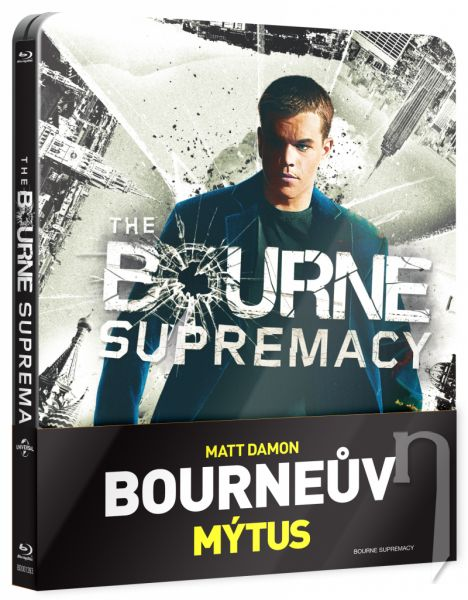 BLU-RAY Film - Bournov mýtus (steelbook)
