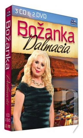 DVD Film - BOŽANKA - Dalmácia (3cd+2dvd)
