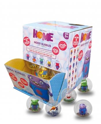 Bublinka s figúrkou z animáku Konečne doma (5 cm)