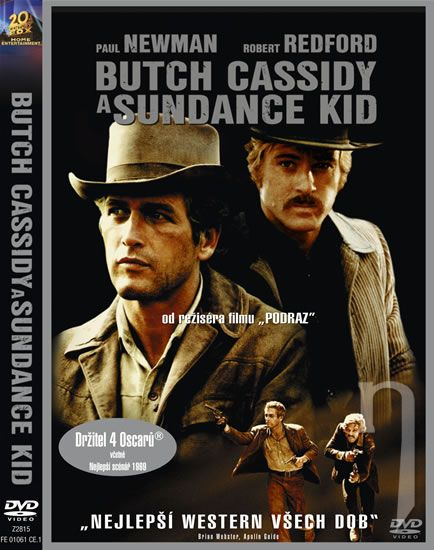 DVD Film - Butch Cassidy a Sundance Kid