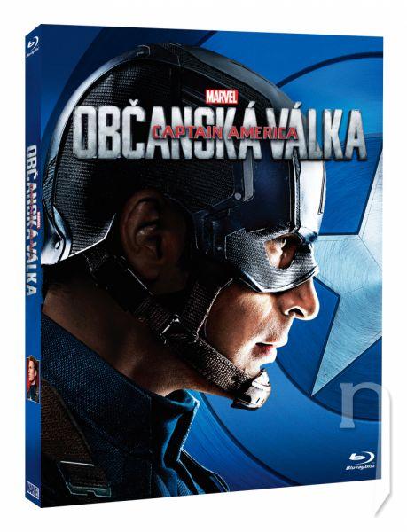 BLU-RAY Film - Captain America: Občanská válka - Captain America