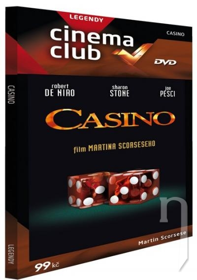 DVD Film - Casino (pap. box)
