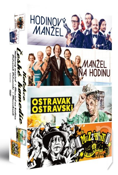 DVD Film - České komedie (4DVD)