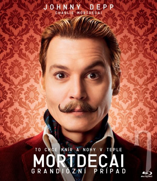 BLU-RAY Film - Charlie Mortdecai