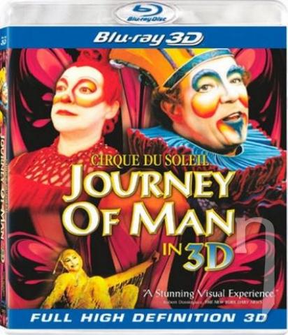 BLU-RAY Film - Cirque du Soleil: Journey of Man (3D Bluray)