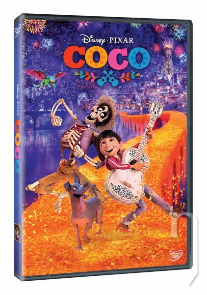 DVD Film - Coco + dárek DVD Kouzelný kolotoč